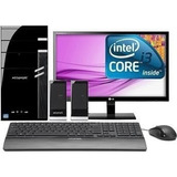 Computadora Core I3 6100 3.7 500 Gb 4gb Led 20