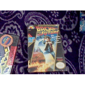 Back To The Future Caja E Instructivo Nintendo Nes