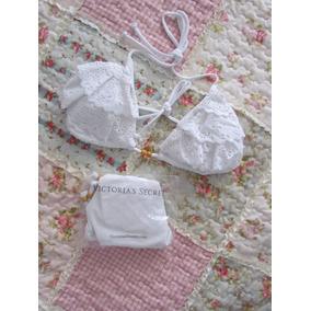 Beauty Gifts Bikini Blanca Volados Laser Victoria