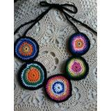 Collares Crochet En Hilo Mexicano - Recoleta