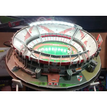 Maqueta Estadios 3d !! River El Monumental!! Con Luces Led!!