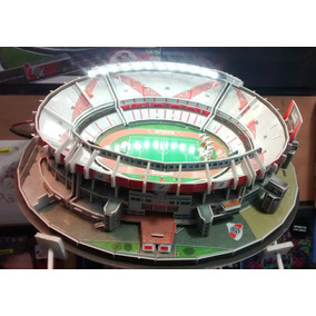 Maqueta Estadio 3d Cancha De River Con Luces Led P/armar
