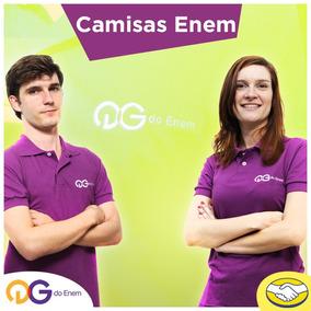 Enem - Camisetas Masculinas Qg Do Enem