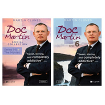 Doc Martin Bundle Package 15 Discos En Dvd