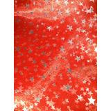 Gasa Cristal Con Estrellas X 10 Mtrs