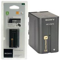 Bateria Sony Np-f970 Original Iluminador Led F770 F750 F570