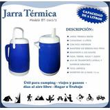 Termo Bidon Tropical Weekend 2 Litros Con Vertedor Camping