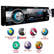 Dvd Player Pioneer Dvh-8880av Bt Bluetooth Usb Tela 3,5pol