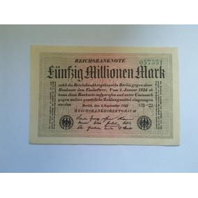 Cedula Da Alemanha 50.000.000 Mark 1923 - Fe