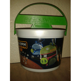 Star Wars Angry Birds Canastita Para Dulces Halloween