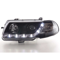 Farol Projector Barra Led Gm Astra 95/97 Black + Xenon