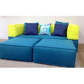 Sofa Cama Bigbag Combinado