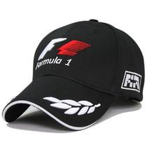 Jockey Formula 1 Negro Y Rojo