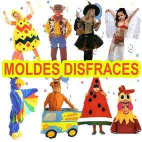 Muchos Moldes Para Hacer Disfraces Para Niños! Super Facil