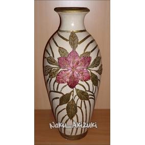 jarron decorativo cm florero ceramica muebles vintage piso