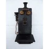 Antigo Telefone De Parede - Artigo Raro Item P/ Colecionador