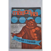 La Mascara Numero Especial Teatro Actores Revista 1969