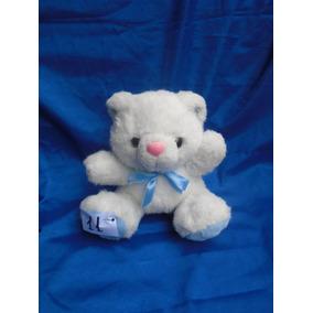 Ursos Branco Detalhe Azul 17x17