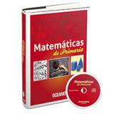 Libro Matemáticas De Primaria + Cd - Editorial Océano