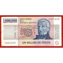 Billete Argentino 1000000 Pesos