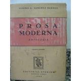 Libreriaweb Prosa Moderna - Albino Sanchez Barros