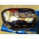 Espejos Con Luz Cromados Toyota Hilux Vigo Fortuner 06-15
