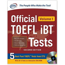 Libro Official Toefl Ibt Tests With Audio Ingles