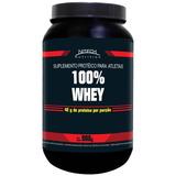 100 % Whey Protein - 900g - Nitech Nutrition - Morango