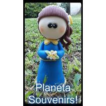 Muñeca De Porcelana Fría Boca Angelita Princesa Adorno Torta