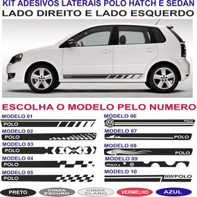 Acessorios Adesivo Vw Polo Hatch Ou Sedan Sport Lateral