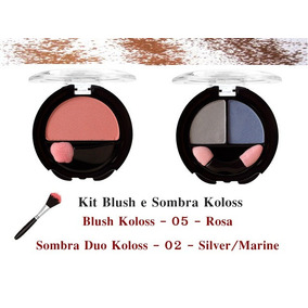 Kit Blush E Sombra Koloss
