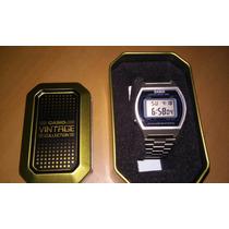 Reloj Casio B640 Plata Retro Edicion Especial Caja Vintage