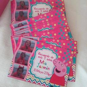 Imanes Souvenirs Todos Los Personajes Peppa Pig, Minnie