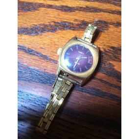 Reloj Vintage Ruso De Cuerda Zaria