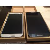 Samsung M919v S4 Color Azul Y Blanco Libre. $6999 Con Envio.