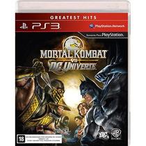 Mortal Kombat Vs Dc Universe Ps3 Midia Fisica Original