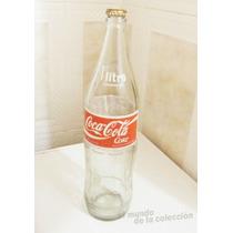 Botella Coca Cola Coke 1litro. Vidrio Vacia (variante 1)