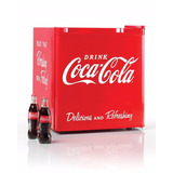 Nostalgia Crf170coke Mini Nevera Bar Refrigerador Coca-cola