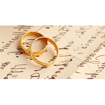 Alianzas Para Casamiento En Oro 18 Kts. 8 Gramos El Par