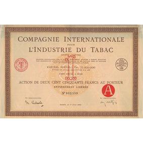 Apólice França Compagnie Intl. L