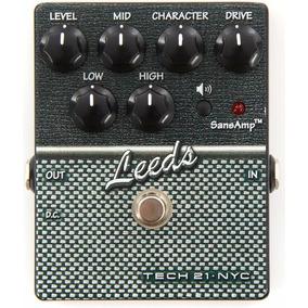 Pedal De Efeito P/ Guitarra Leeds Charater Sansamp Tech 21