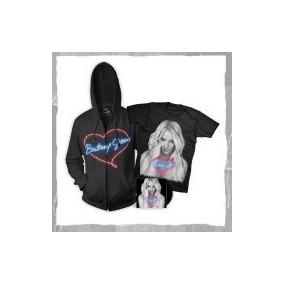 Kit Britney Spears (blusa + Camiseta + Cd Deluxe Edition)