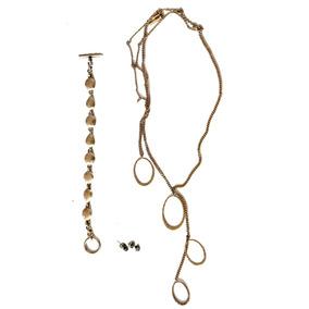 Collar Pulsera Y Aretes Kenneth Cole Diseño Exclusivo