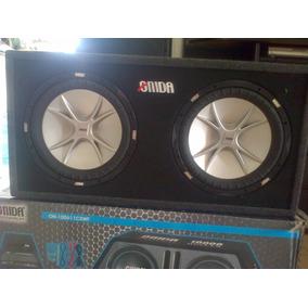 Cajones Pasivo Con Bajos Incluidos Kicker Onida 12 Original