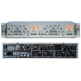Preamp Dbx 586 A Bulbos Eq, Limit Y Tarjeta Digital Spidf