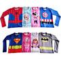 Camisa Com Proteção Uv 50 Manga Longa Infantil Estampadas