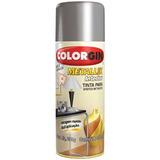 Tinta Spray Metálica Metallik Cromado Colorgin Com 6 Unidad