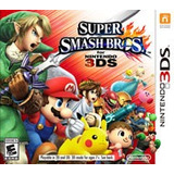 Super Smash Bros Nuevo Sellado 3ds