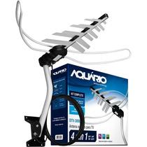Antena Externa Digital Aquario Dtv3000 + Cabo 16mt E Suporte