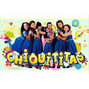 Painel Decorativo Festa Infantil Novela Chiquititas (mod2)